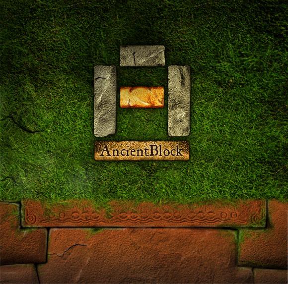 App Ancient Block - Logo Design
