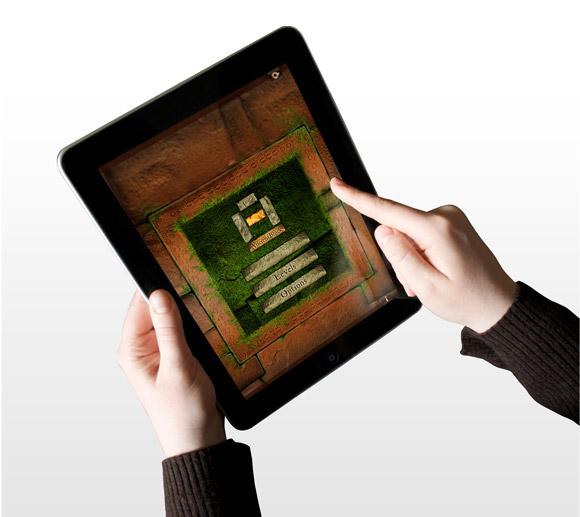 App Ancient Block - User Interface