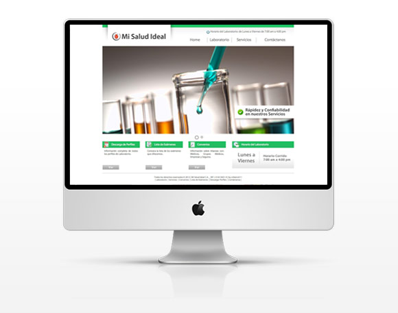 Mi Salud Ideal - Website