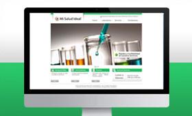 Website Laboratorio Mi Salud Ideal